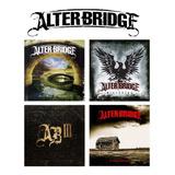 Alter Bridge   4 Studio Albums [4cd] Import Lacrado Blackbir